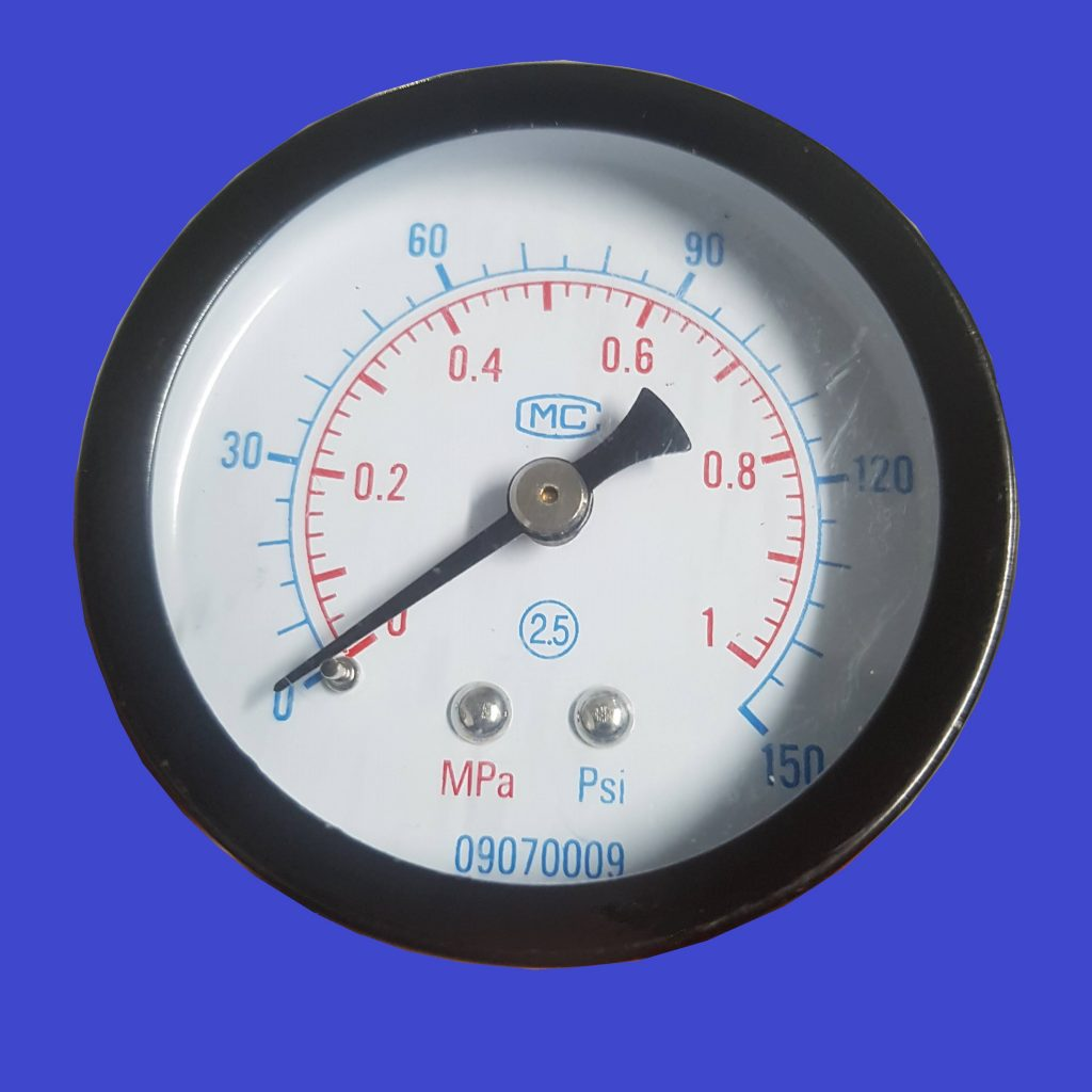 Compressed air gauge