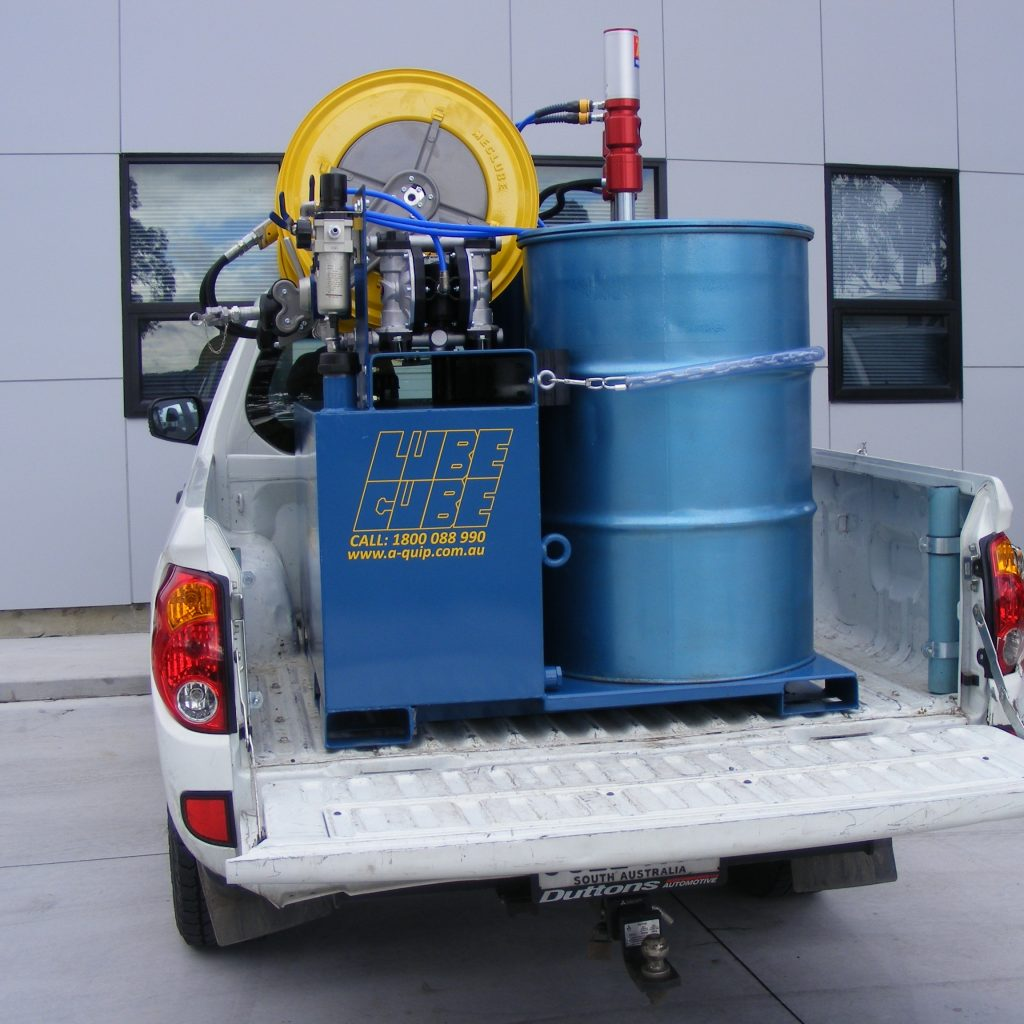 Standard unit is designed to fit in the back of a standard dual-cab ute
