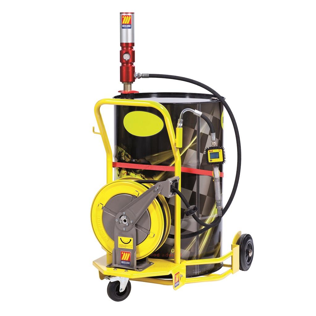 Workshop oil cart for 1 new oil service